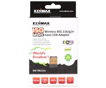 Edimax EW-7811Un NANO (802.11b/g/n 150Mb/s)-60376 - Zdjęcie 4