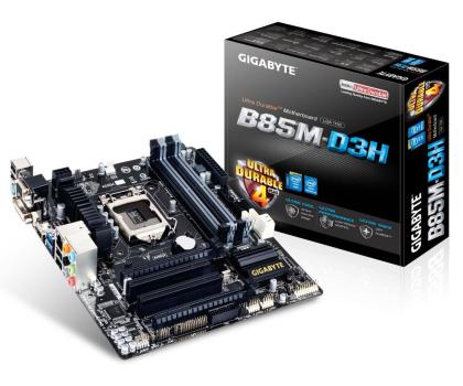 Gigabyte GA-B85M-D3H (B85 2xPCI-E DDR3)-151872 - Zdjęcie 1