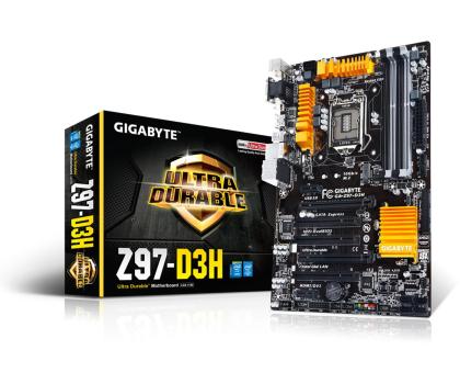 Gigabyte GA-Z97-D3H (Z97 2xPCI-E DDR3)-186079 - Zdjęcie 1
