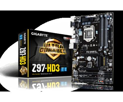 Gigabyte GA-Z97-HD3 (Z97 2xPCI-E DDR3)-186080 - Zdjęcie 1