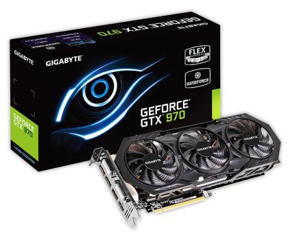 Gigabyte GeForce GTX970 4096MB 256bit WindForce III OC-209776 - Zdjęcie 1