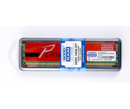 GOODRAM 16GB 1600MHz Play CL10 Czerwone (2x8192)-156185 - Zdjęcie 3