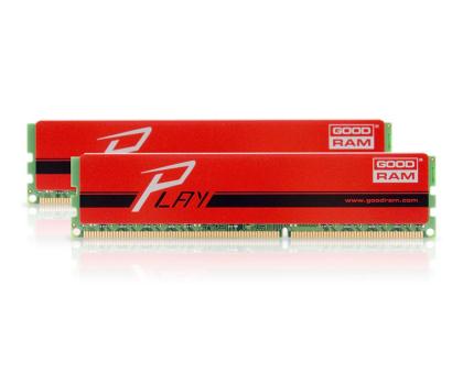 GOODRAM 16GB 1600MHz Play CL10 Czerwone (2x8192)-156185 - Zdjęcie 2