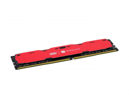 GOODRAM 16GB 2400MHz IRIDIUM Red CL15 (2x8GB)-361616 - Zdjęcie 2