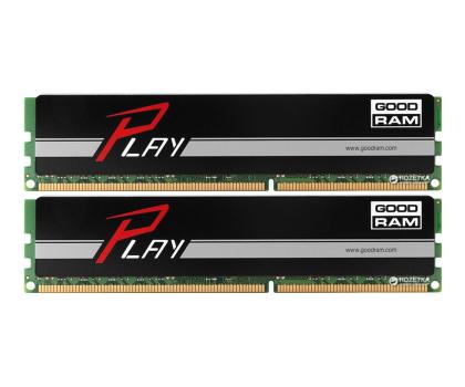 GOODRAM 8GB 1600MHz Play Black CL9 (2x4096)-204617 - Zdjęcie 1