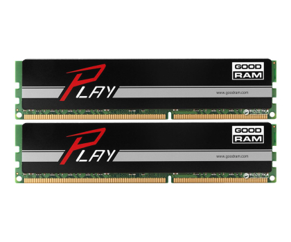GOODRAM 8GB 1600MHz Play Black CL9 (2x4GB)-204617 - Zdjęcie 1
