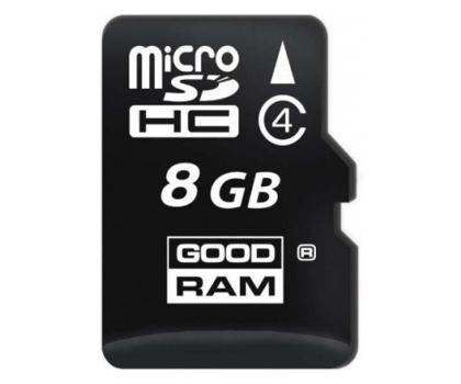 GOODRAM 8GB microSDHC zapis5MB/s odczyt15MB/s+adapter-303118 - Zdjęcie 1