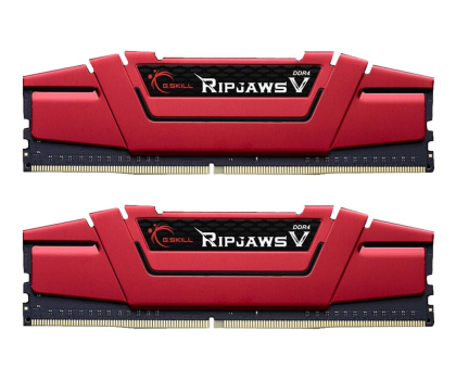 G.SKILL 16GB 3200MHz Ripjaws V CL15 Red (2x8GB)-427810 - Zdjęcie 1