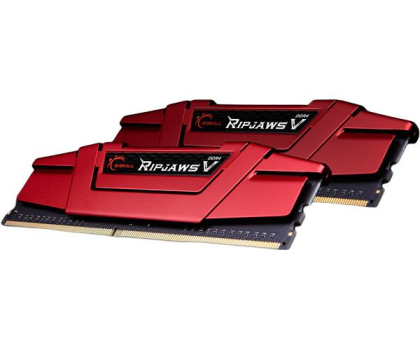 G.SKILL 16GB 3200MHz Ripjaws V CL15 Red (2x8GB)-427810 - Zdjęcie 2