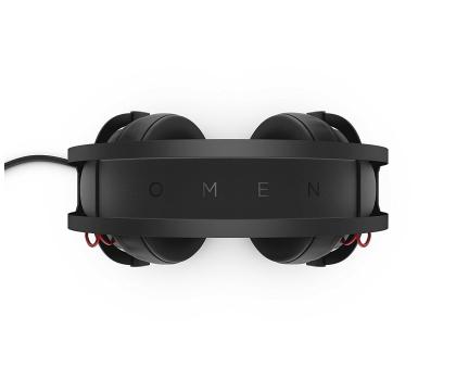 HP Omen 800 Headset czarne z mikrofonem-380154 - Zdjęcie 2