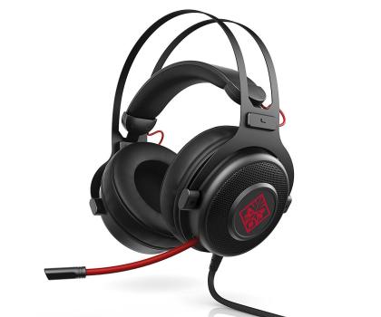 HP Omen 800 Headset czarne z mikrofonem-380154 - Zdjęcie 1