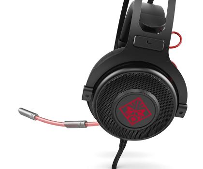 HP Omen 800 Headset czarne z mikrofonem-380154 - Zdjęcie 3