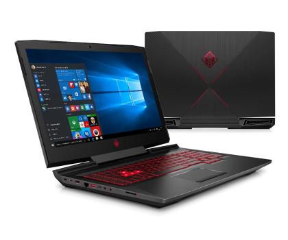 HP OMEN i5-7300HQ/8GB/1TB+240SSD/Win10 GTX1050-376227 - Zdjęcie 1