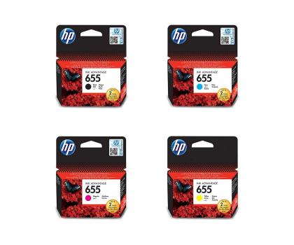 HP ZESTAW 4 TUSZÓW HP 655 (CMYK) -154905 - Zdjęcie 1