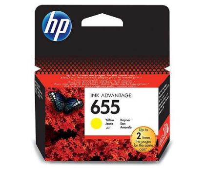 HP Zestaw 4tuszów 655 CZ109AE+CZ110AE+CZ111AE+CZ112AE-162406 - Zdjęcie 4