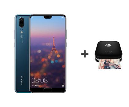 Huawei P20 Dual SIM 128GB Niebieski + HP Sprocket-431750 - Zdjęcie 1