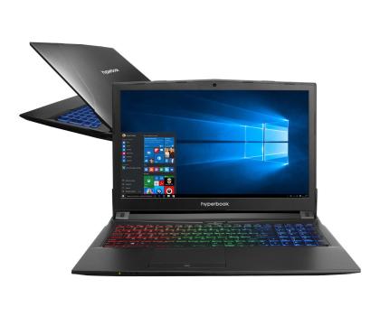 Hyperbook N85 i7-7700HQ/16GB/1TB+120SSD/Win10X GTX1060 IPS -378696 - Zdjęcie 1