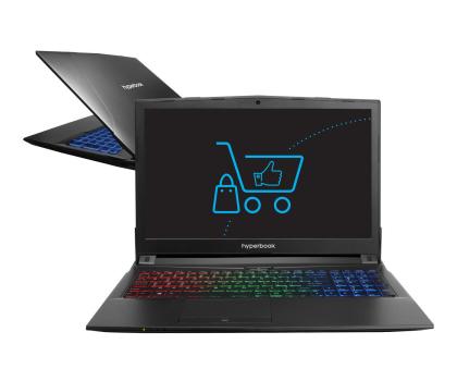 Hyperbook N85 i7-7700HQ/8GB/1TB+120SSD GTX1050Ti IPS-377872 - Zdjęcie 1