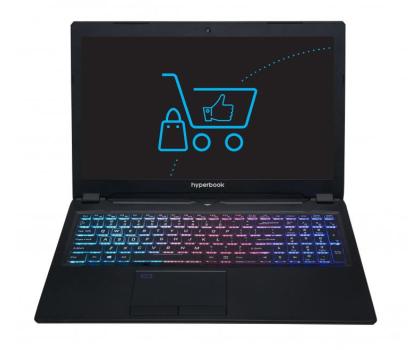Hyperbook SL950VR i7-7700HQ/8GB/1TB GTX1070-393261 - Zdjęcie 2