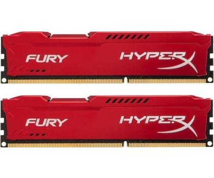 HyperX 16GB 1866MHz Fury Red CL10 (2x8192)-180547 - Zdjęcie 1