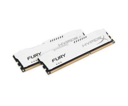 HyperX 16GB 1866MHz Fury White CL10 (2x8192)-180550 - Zdjęcie 2
