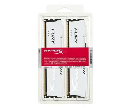 HyperX 16GB 1866MHz Fury White CL10 (2x8192)-180550 - Zdjęcie 3