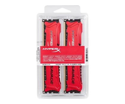 HyperX 16GB 2400MHz Savage CL11 (2x8192)-207574 - Zdjęcie 3