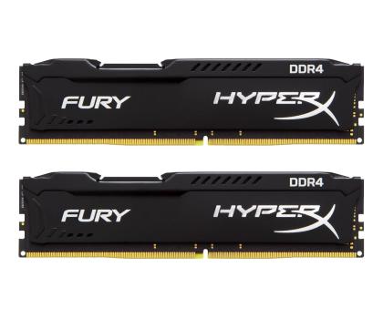HyperX 8GB 2666MHz Fury Black CL15 (2x4GB)-254683 - Zdjęcie 1