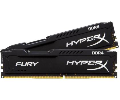 HyperX 8GB 2666MHz Fury Black CL15 (2x4GB)-254683 - Zdjęcie 2