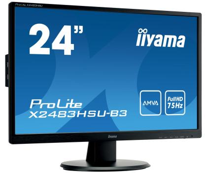 iiyama X2483HSU czarny-380632 - Zdjęcie 3