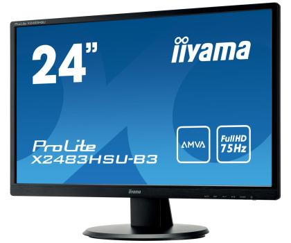 iiyama X2483HSU czarny-380632 - Zdjęcie 2