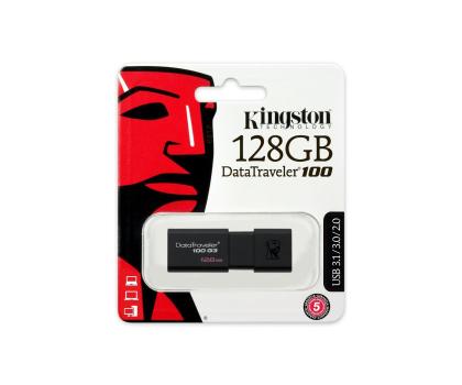 Kingston 128GB DataTraveler 100 G3 (USB 3.0)-265042 - Zdjęcie 5