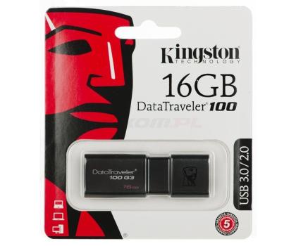 Kingston 16GB DataTraveler 100 G3 (USB 3.0)-126209 - Zdjęcie 2