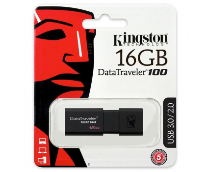 Kingston 16GB DataTraveler 100 G3 (USB 3.0)-126209 - Zdjęcie 4