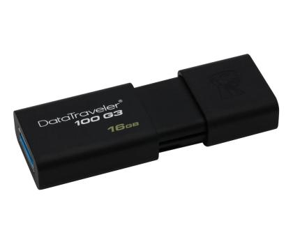 Kingston 16GB DataTraveler 100 G3 (USB 3.0)-126209 - Zdjęcie 1