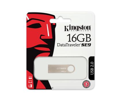 Kingston 16GB DataTraveler SE9 (Metalowy)-75417 - Zdjęcie 4