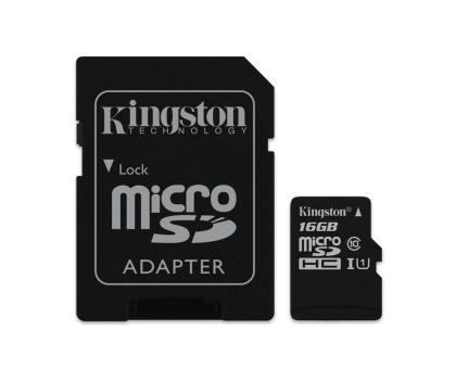 Kingston 16GB microSDHC Class10 zapis 10MB/s odczyt 45MB/s-263186 - Zdjęcie 3