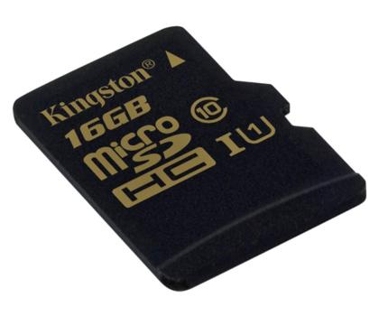 Kingston 16GB microSDHC Class10 zapis 45MB/s odczyt 90MB/s-185516 - Zdjęcie 2