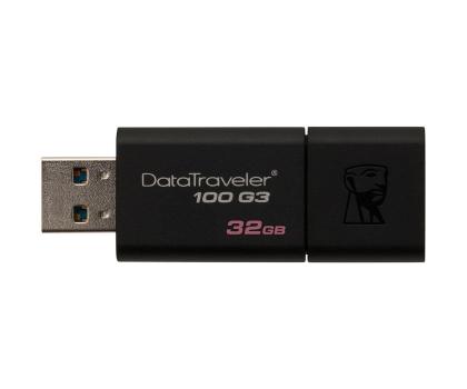 Kingston 32GB DataTraveler 100 G3 (USB 3.0)-126210 - Zdjęcie 3