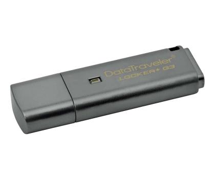 Kingston 32GB DataTraveler Locker+ G3 (USB 3.0) 135MB/s-169209 - Zdjęcie 1