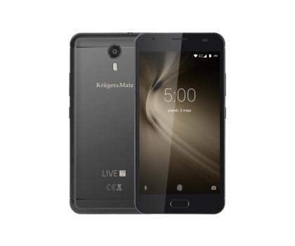Kruger&Matz LIVE 5+ Dual SIM LTE czarny-371376 - Zdjęcie 1