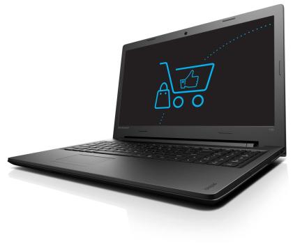 Lenovo Ideapad 100-15 i5-4288U/8GB/1000/DVD-RW -346887 - Zdjęcie 1