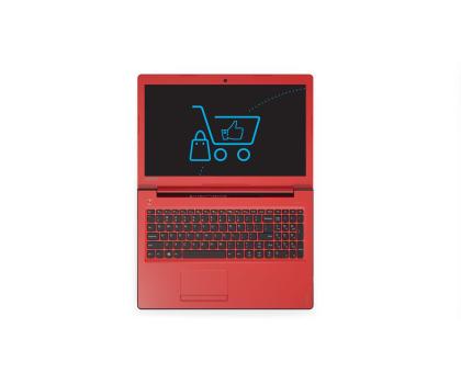 Lenovo Ideapad 310-15 i3-6100U/4GB/500 GF920MX Czerwony-332165 - Zdjęcie 5