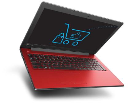 Lenovo Ideapad 310-15 i3-6100U/4GB/500 GF920MX Czerwony-332165 - Zdjęcie 4