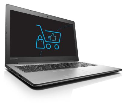 Lenovo Ideapad 310-15 i3-6100U/4GB/500 GF920MX Srebrny-332145 - Zdjęcie 1