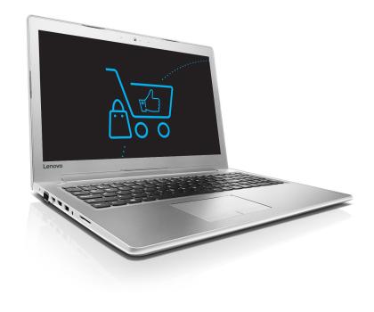 Lenovo Ideapad 510-15 i3-6100U/8GB/1TB GF940MX Biały -352385 - Zdjęcie 1