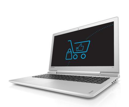 Lenovo Ideapad 700-15 i5-6300HQ/4GB/1000 GTX950M Biały-340112 - Zdjęcie 1