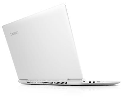 Lenovo Ideapad 700-15 i5/8GB/120+1000/GTX950M Biały-345723 - Zdjęcie 6