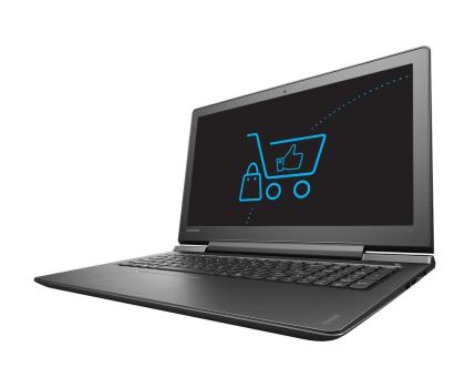 Lenovo Ideapad 700-15 i7-6700HQ/8GB/1000 GTX950M Czarny -336907 - Zdjęcie 1