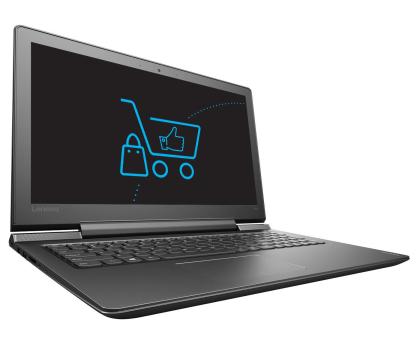Lenovo Ideapad 700-15 i7-6700HQ/8GB/1000 GTX950M Czarny -336907 - Zdjęcie 3